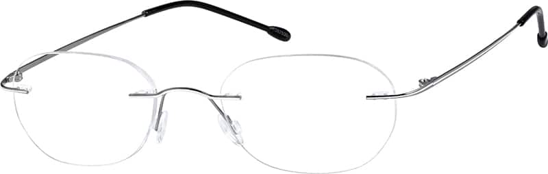 Unisex Rimless Stainless Steel Eyeglasses #367515