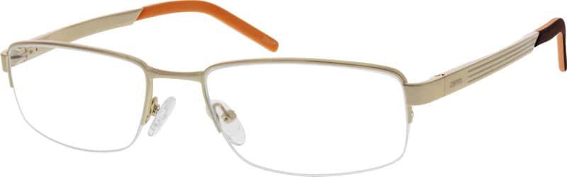 MenHalf RimAluminum AlloyEyeglasses #367714