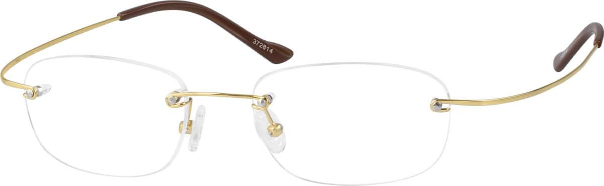 UnisexRimlessTitaniumEyeglasses #372811