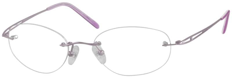Women Rimless Titanium Eyeglasses #375114
