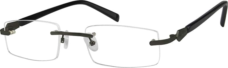 Grey 3759 Pure Titanium Rimless Frame