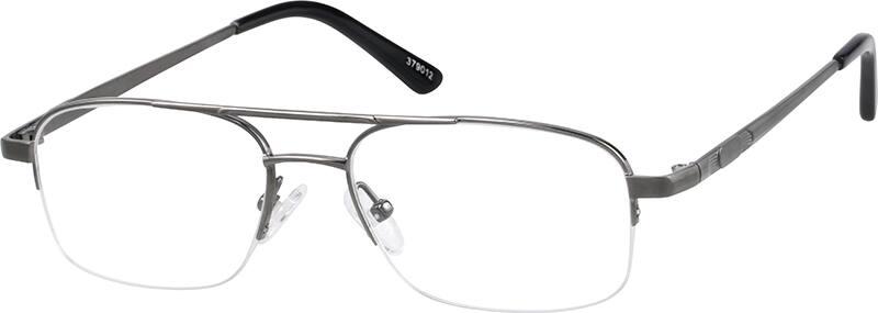 MenHalf RimTitaniumEyeglasses #379012