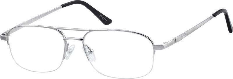 MenHalf RimTitaniumEyeglasses #379111