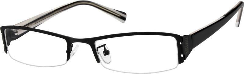 MenHalf RimMixed MaterialsEyeglasses #391221