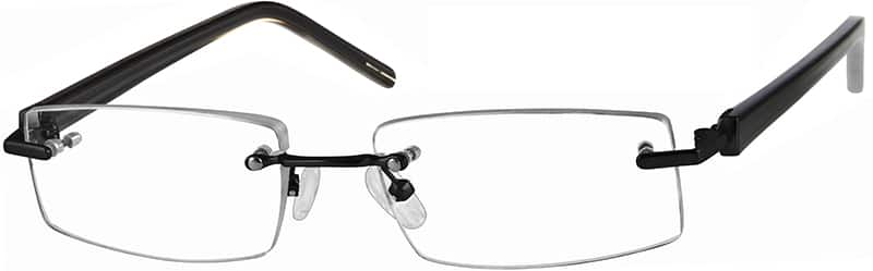 WomenRimlessMixed MaterialsEyeglasses #392418