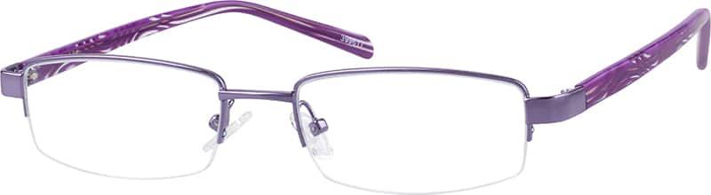 WomenHalf RimMixed MaterialsEyeglasses #399617