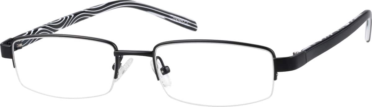 399621-stainless-steel-half-rim-frame-with-acetate-temples