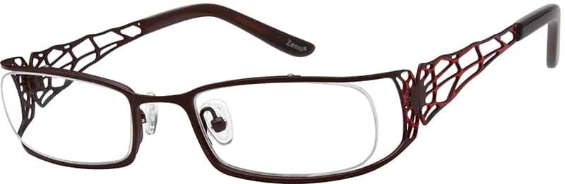 GirlFull RimStainless SteelEyeglasses #400839