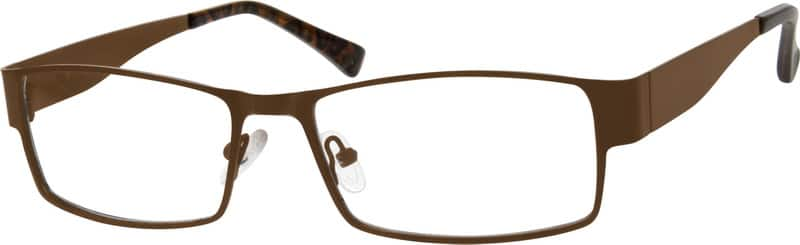 Unisex Full Rim Stainless Steel Eyeglasses #408521