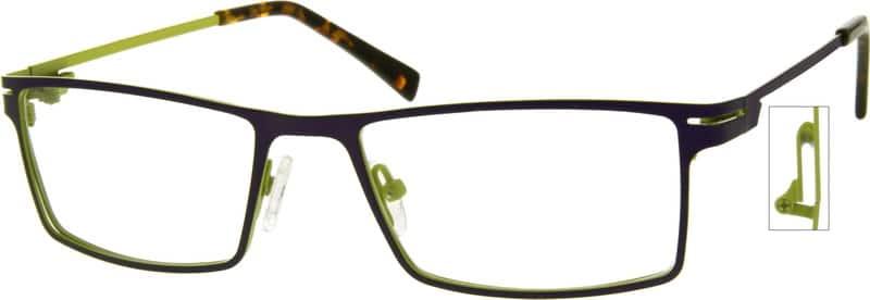 WomenFull RimStainless SteelEyeglasses #408912