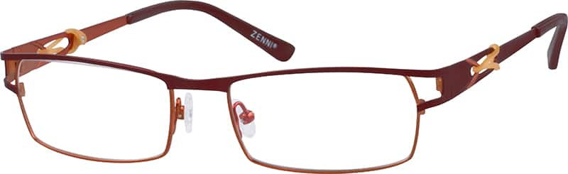 Women Full Rim Stainless Steel Eyeglasses #409438