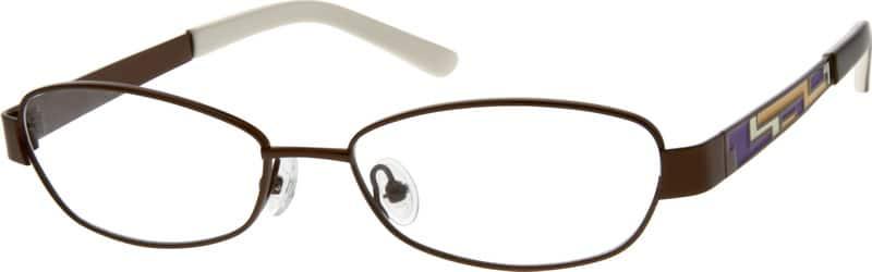 WomenFull RimStainless SteelEyeglasses #409615