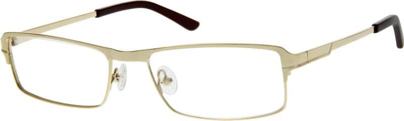 MenFull RimStainless SteelEyeglasses #409714