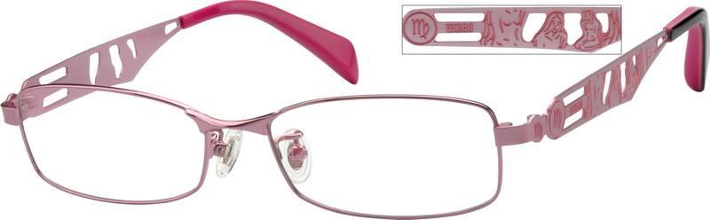 WomenFull RimStainless SteelEyeglasses #410219