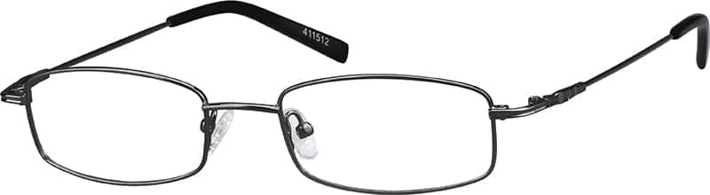 Unisex Full Rim Stainless Steel Eyeglasses #411512