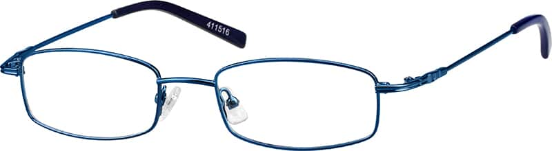 Blue 4115 Metal Alloy / Stainless Steel Full-Rim Frame