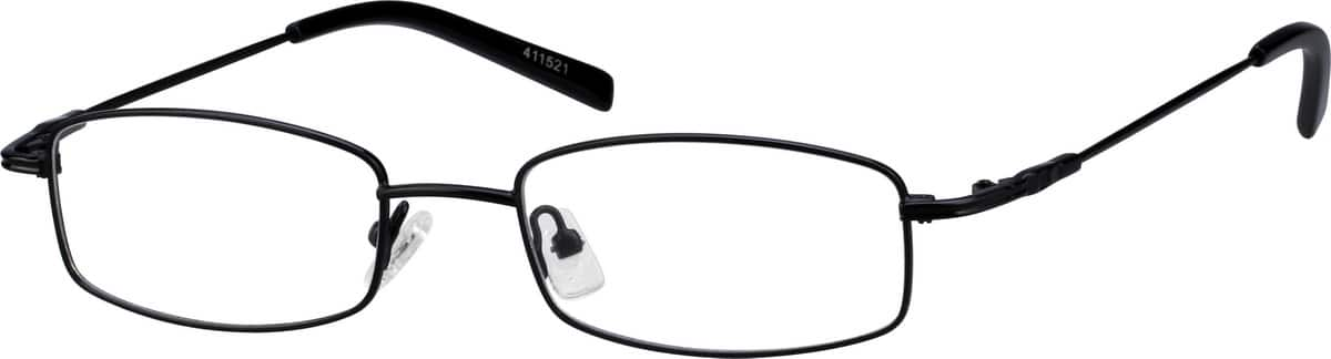 Unisex Full Rim Stainless Steel Eyeglasses #411516