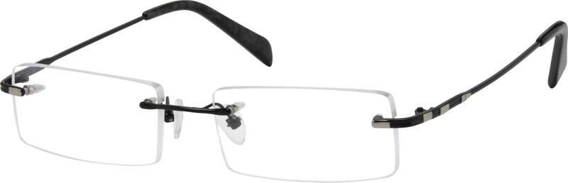 UnisexRimlessMetalEyeglasses #412414
