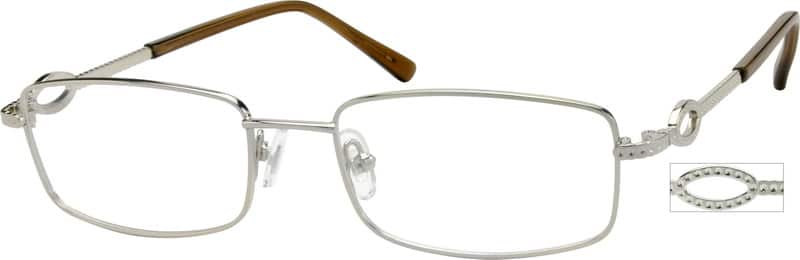 Women Full Rim Metal Eyeglasses #412611