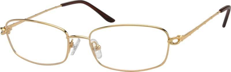 WomenFull RimMetalEyeglasses #413311