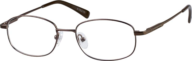 Men Full Rim Metal Eyeglasses #416215