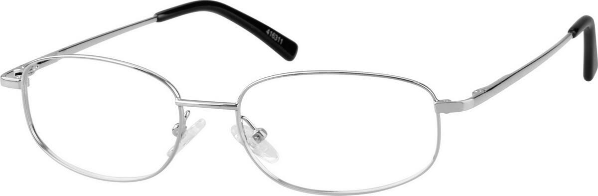 MenFull RimMetalEyeglasses #416311