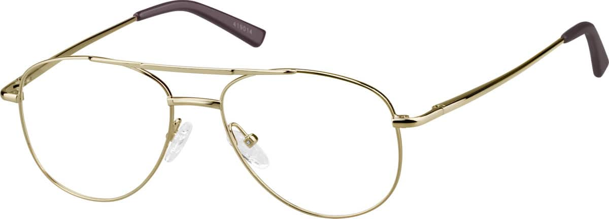 Unisex Full Rim Metal Eyeglasses #419014