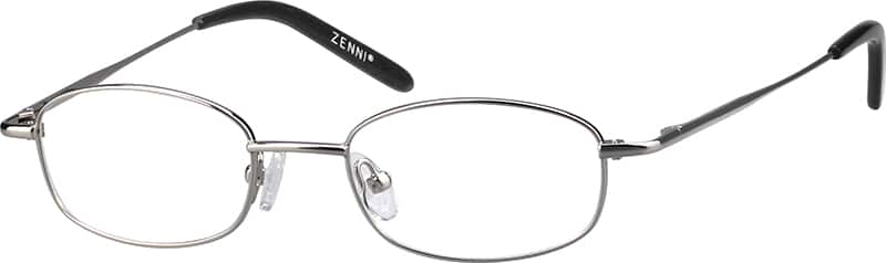 Boy Full Rim Metal Eyeglasses #429711
