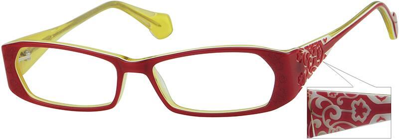 WomenFull RimAcetate/PlasticEyeglasses #437517