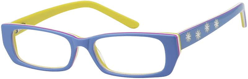 Girl Full Rim Acetate/Plastic Eyeglasses #437821