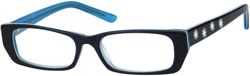 Girl Full Rim Acetate/Plastic Eyeglasses #437817