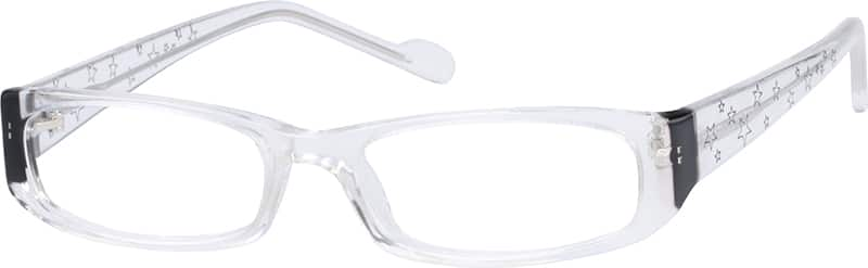 Acetate Full-Rim Frame with Star Motif