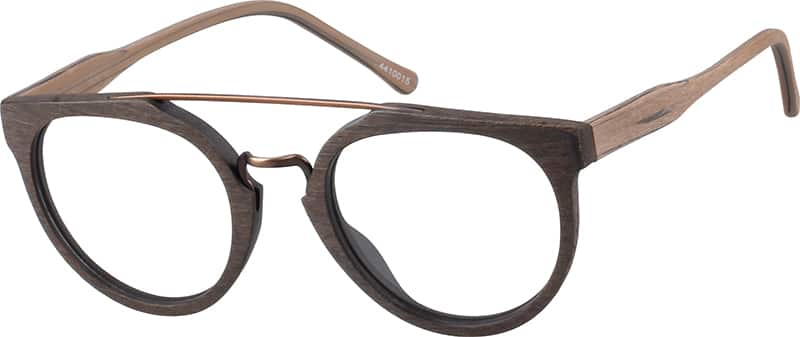 Acetate and Stainless Steel Full-Rim Frame