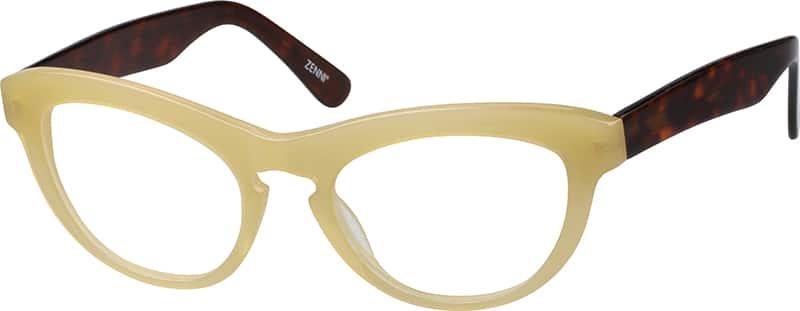 WomenFull RimAcetate/PlasticEyeglasses #4411122
