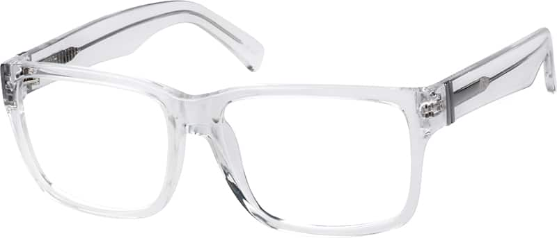 Translucent Acetate Full-Rim Frame #44113 Zenni Optical ...