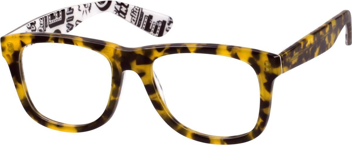 MenFull RimAcetate/PlasticEyeglasses #4412025