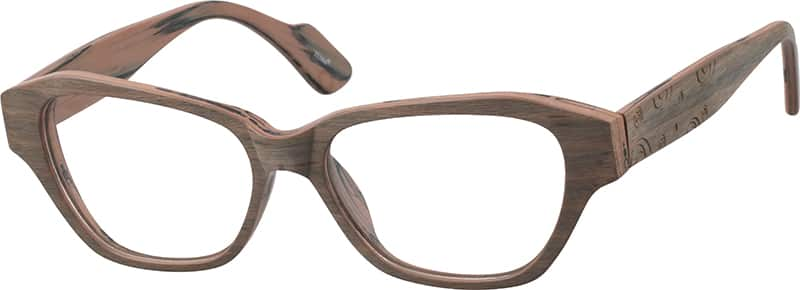 Contemporary Cat-Eye Eyeglasses