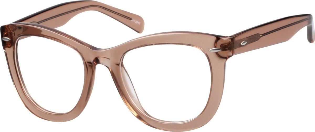 WomenFull RimAcetate/PlasticEyeglasses #4413915