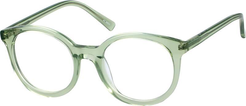 UnisexFull RimAcetate/PlasticEyeglasses #4414024