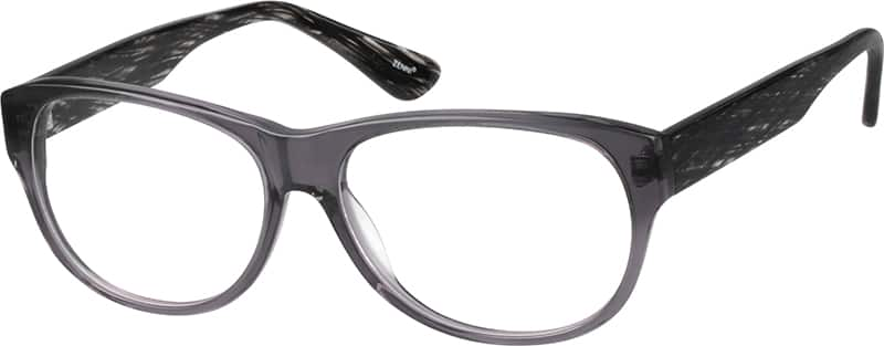 Grey Translucent Eyeglasses
