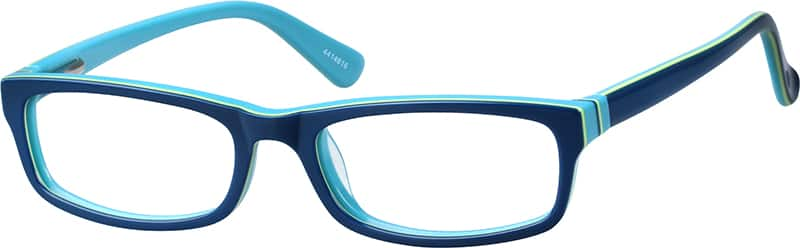 Kids Full Rim Acetate/Plastic Eyeglasses #4414616
