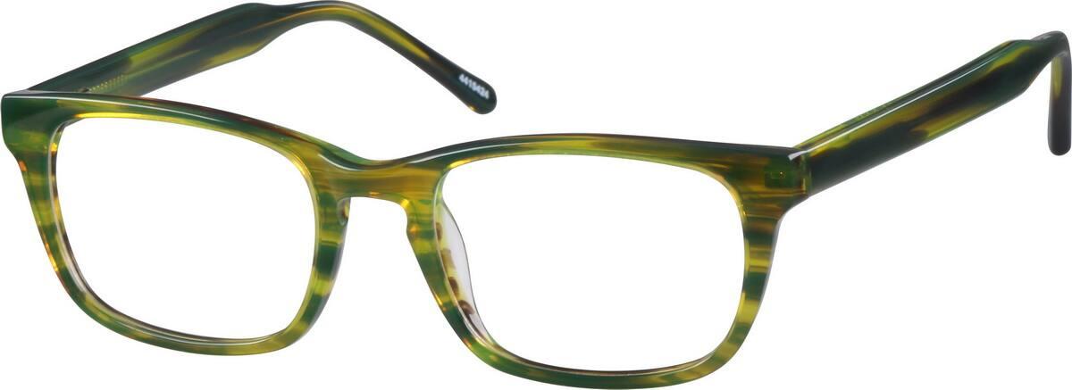 UnisexFull RimAcetate/PlasticEyeglasses #4415415