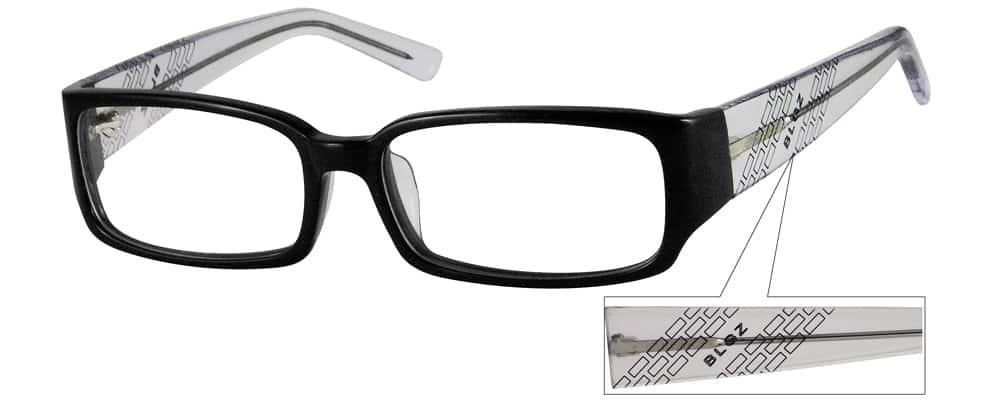 MenFull RimAcetate/PlasticEyeglasses #441721