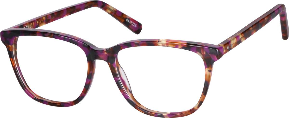 WomenFull RimAcetate/PlasticEyeglasses #4417225