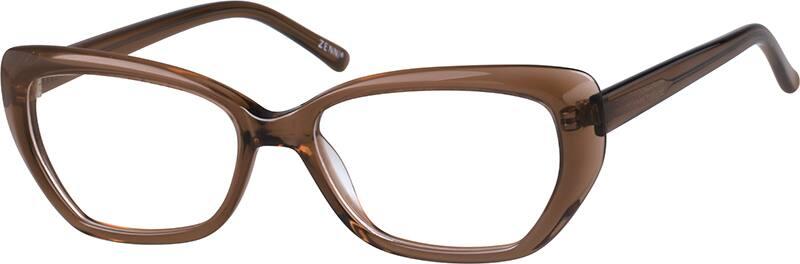 WomenFull RimAcetate/PlasticEyeglasses #4417915