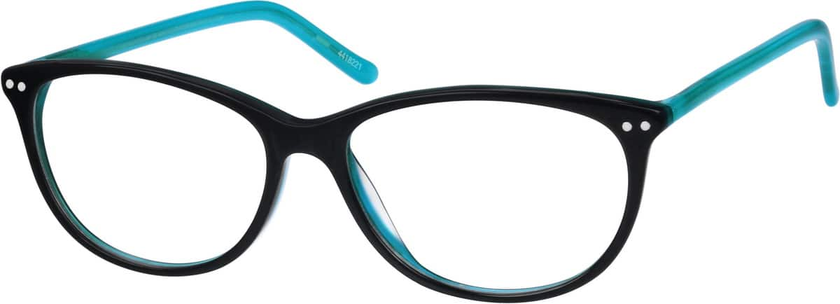 thin acetate cat eye eyeglasses