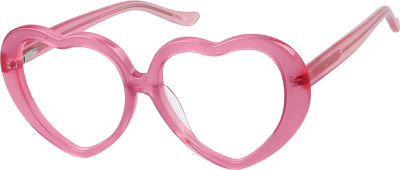 Kids' Prescription Heart-Shaped Sunglasses