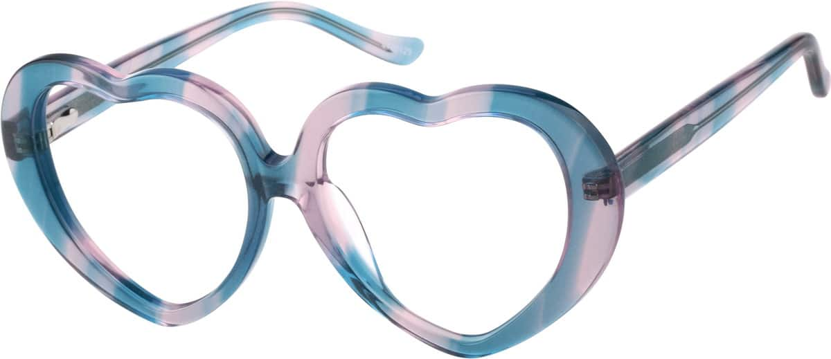 Pattern Kids Heart-Shaped Glasses #44201 Zenni Optical ...