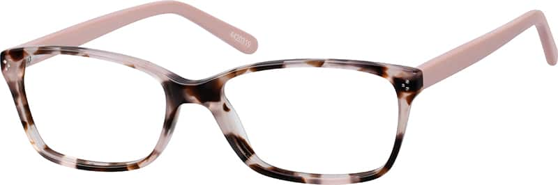 pink thin acetate eyeglasses 44203 - Zenni Optical Frames