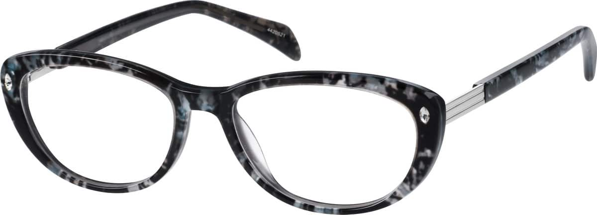 Women Full Rim Acetate/Plastic Eyeglasses #4420521